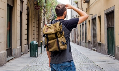 Męskie lifestylove plecaki