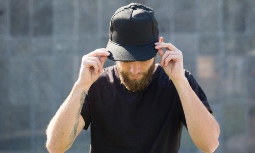 Męskie czapki z daszkiem