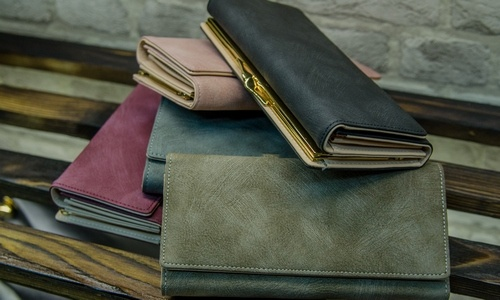 Damskie portfele