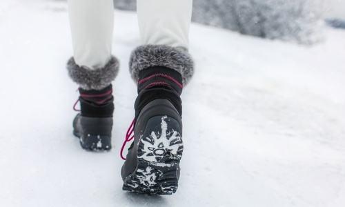 Damskie śniegowce
