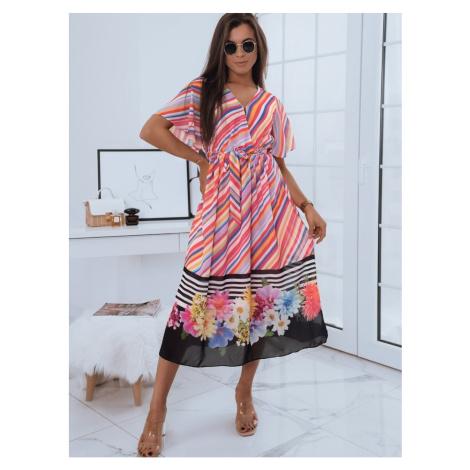 MAXI LONI sukienka wielokolorowa Dstreet EY1685