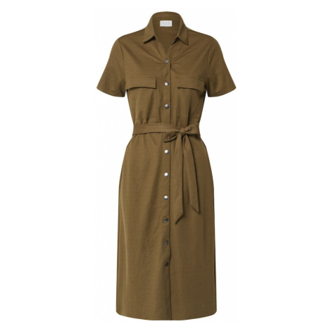 VILA Sukienka koszulowa 'VISAFINA' oliwkowy