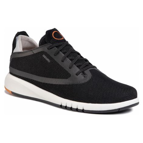 Sneakersy GEOX - U Aerantis D U027FD 0006K C9999 Black