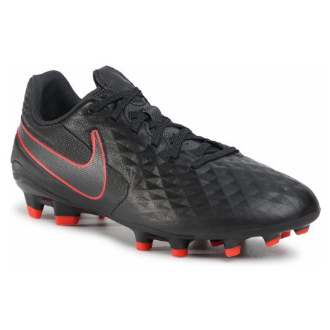 Buty NIKE - Legend 8 Academy Fg/Mg AT5292 060 Black/Dk Smoke Grey/Chile Red