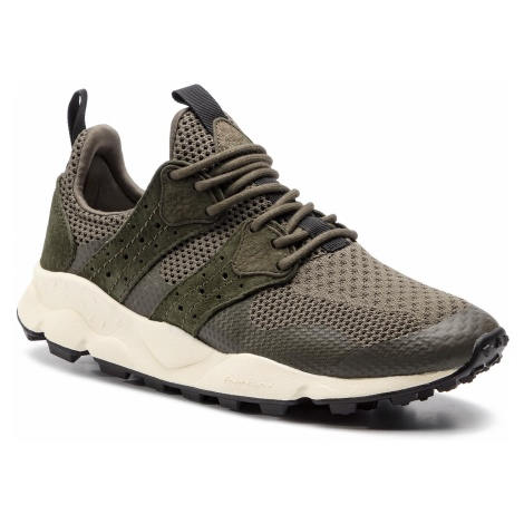 Sneakersy FLOWER MOUNTAIN - Corax 0012013722.01.0F03 Verde