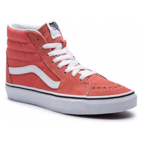 Vans Sneakersy Sk8-Hi VN0A38GEVKR1 Pomarańczowy