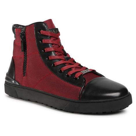 Sneakersy GOE - GG1N3021 Burgundy/Black