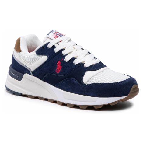Sneakersy POLO RALPH LAUREN - Trckstr Pony 809836432002 Navy/Creme
