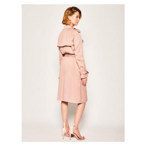Calvin Klein Płaszcz przejściowy Lightweight K20K201847 Różowy Regular Fit