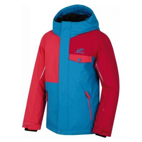 Hannah TIMUR JR czerwony 140 - Kurtka narciarska dziecięca