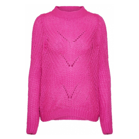 VERO MODA Sweter 'WISHI LIGHT' różowy
