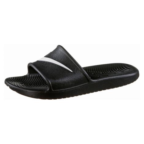 Nike Sportswear Klapki 'Kawa Shower' biały / czarny