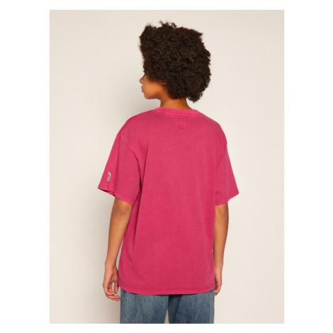 Levi's® T-Shirt PEANUTS® Snoopy Soccer Tee 56152-0002 Różowy Oversize Levi´s