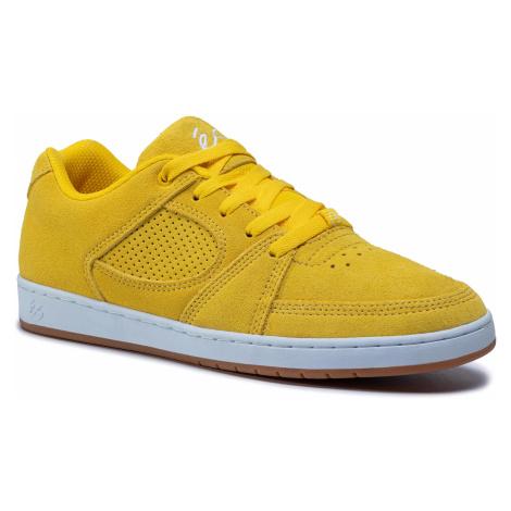 Sneakersy ES - Accel Slim 5101000144700 Yellow.Jaune éS