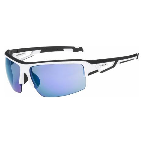 okulary Relax Palmeira - R5402B/Shiny White/Gray Cloud/Iceblue Platinum