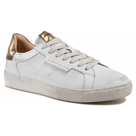 Sneakersy ALLSAINTS - Sheer B4ZW0352 White/Gold