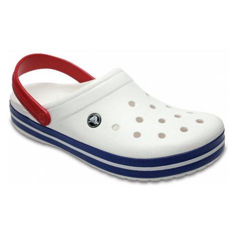 Klapki Crocs Crocband 11016 WHITE/BLUE JEAN