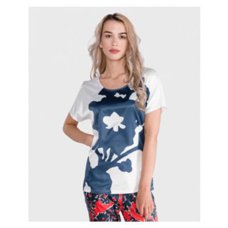 GAS Melyn Big Flower Koszulka Biały