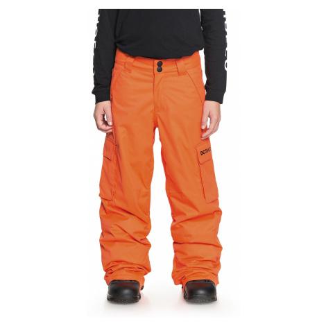 spodnie DC Banshee - NMN0/Red Orange
