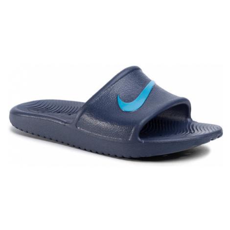 Nike Klapki Kawa Shower (GS/PS) BQ6831 402 Granatowy
