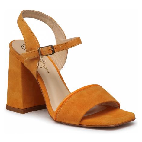 Sandały SOLO FEMME - 30706-13-L77/L79-07-00 Pomarańczowy