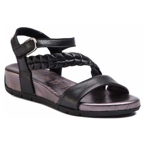 Sandały TAMARIS - 1-28232-22 Black Comb 098