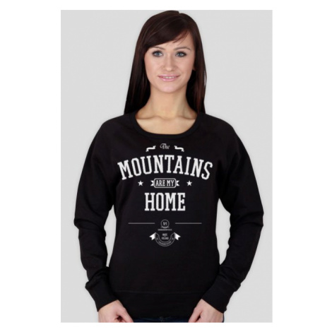 Bluza damska - the mountains are my home (2 kolory!)