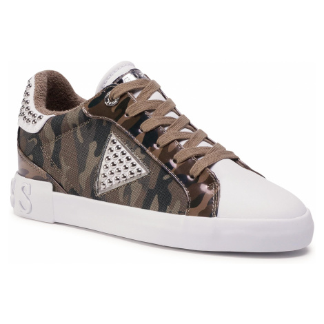 Sneakersy GUESS - Paysin5 FL7PA5 FAP12 CAMO