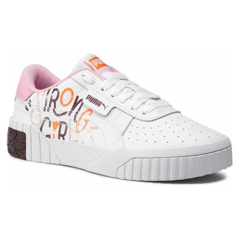 Sneakersy PUMA - Cali Superbold Jr 374270 01 Puma White/Burgundy