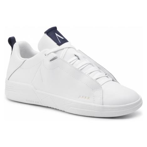 Sneakersy ARKK COPENHAGEN - Uniklass Leather S-C18 IL4601-1052-M White Midnight