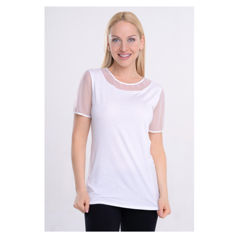 Damski T-shirt Manica Cotonella