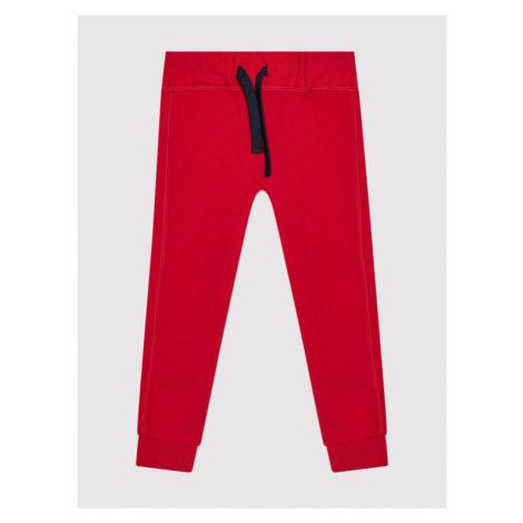 United Colors Of Benetton Spodnie dresowe 3J68I0449 M Czerwony Regular Fit