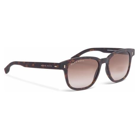 Okulary przeciwsłoneczne BOSS - 0956/S Dark Havana 086 Hugo Boss