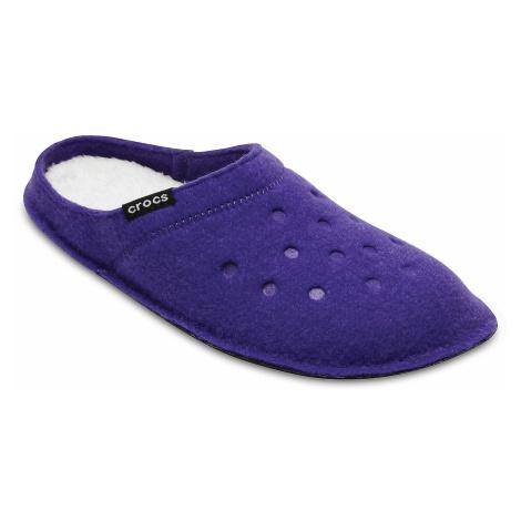 buty Crocs Classic Slipper - Ultraviolet/Oatmeal