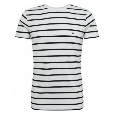TOMMY HILFIGER Koszulka biały / ciemny niebieski