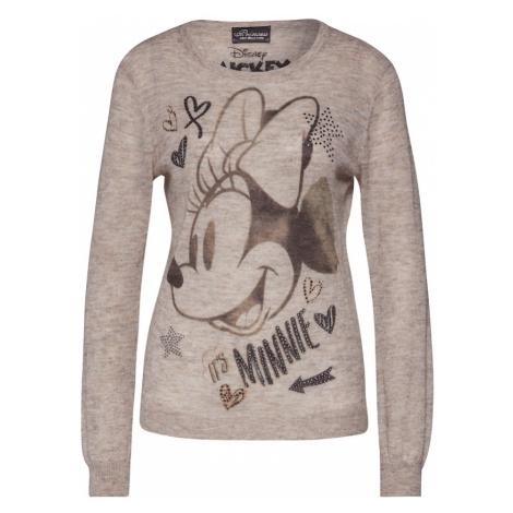 PRINCESS GOES HOLLYWOOD Sweter 'It's Minnie' czarny / camel