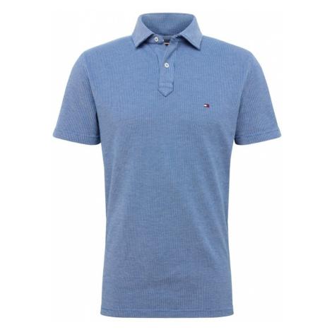 TOMMY HILFIGER Koszulka 'STRUCTURED' niebieski / czerwony / biały