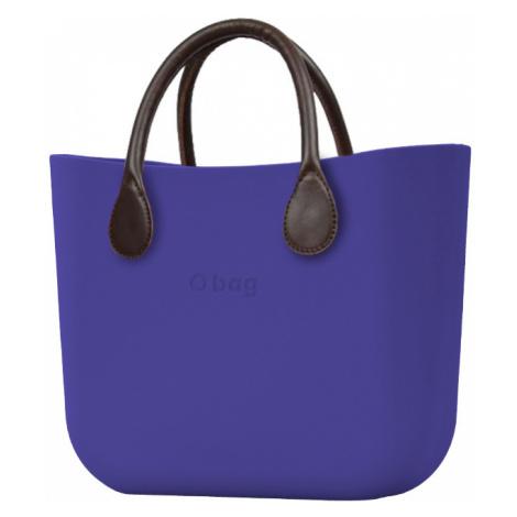 O bag torebka Iris z krótkimi brązowymi uchwytami ze skajki