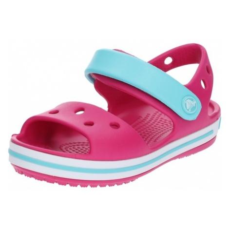 Crocs Buty otwarte 'Crocband' jasnoniebieski / różowy
