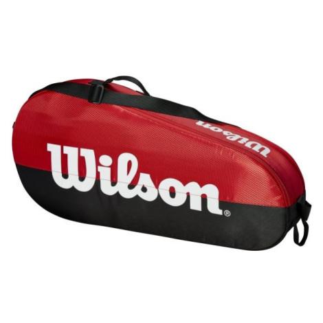 Wilson TEAM 1 COMP SMALL czerwony - Torba tenisowa