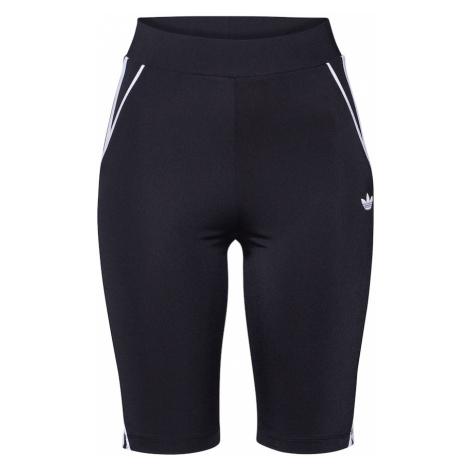 ADIDAS ORIGINALS Spodnie sportowe 'CYCLING TIGHT' czarny / biały