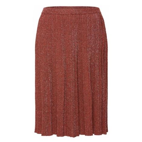 VILA Spódnica rdzawoczerwony