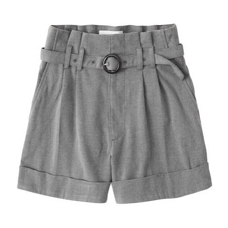 Abercrombie & Fitch Spodnie w kant szary