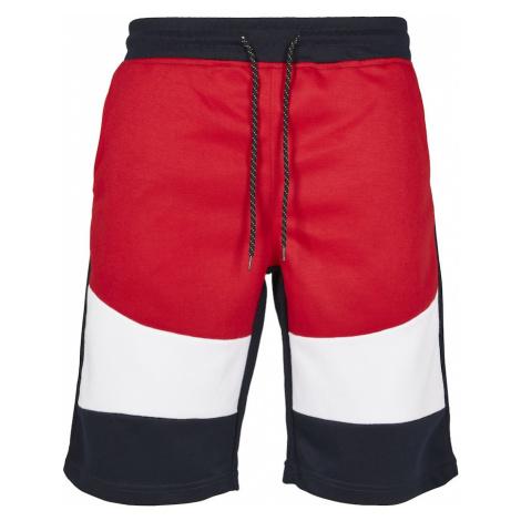 SOUTHPOLE Spodnie biały / granatowy / czerwony