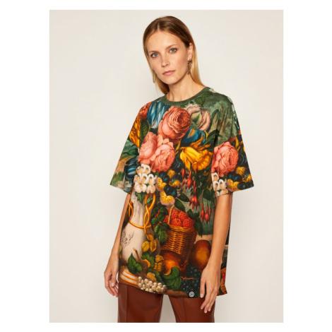 Desigual T-Shirt Soraia 20WWTKBA Kolorowy Oversize