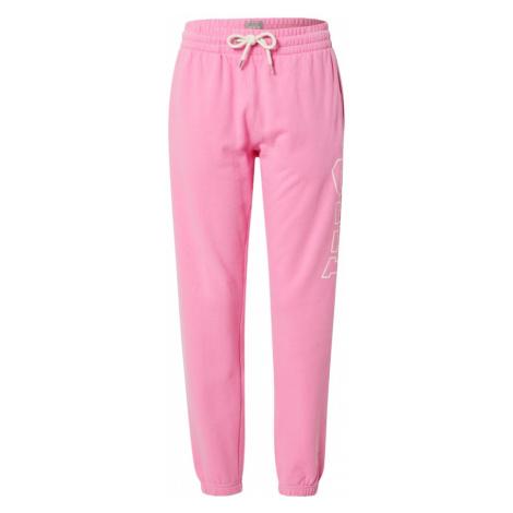 GAP Spodnie różowy / biały