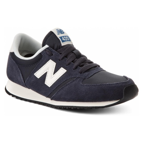 Sneakersy NEW BALANCE - U420NVB Granatowy