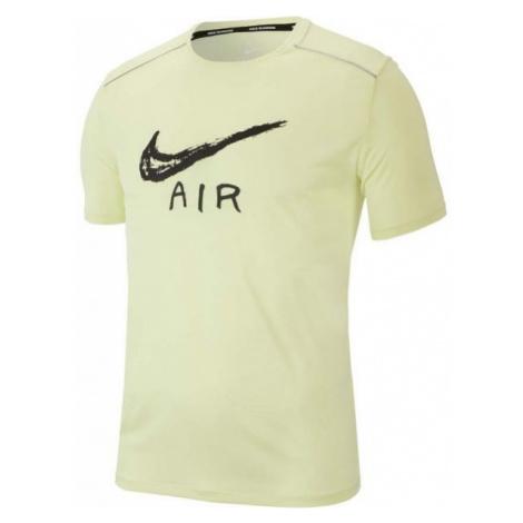 Nike MILER COOL SS GX HBR żółty XXL - Koszulka męska