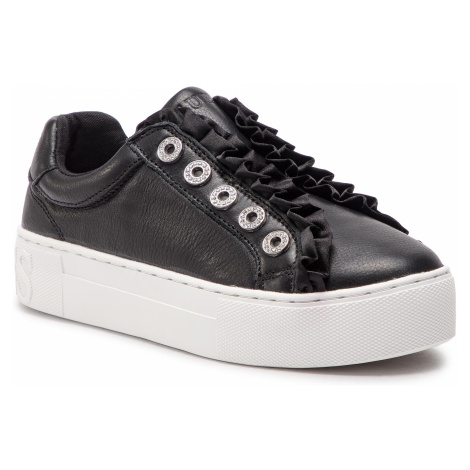 Sneakersy GUESS - FL5MZR LEA12 BLACK