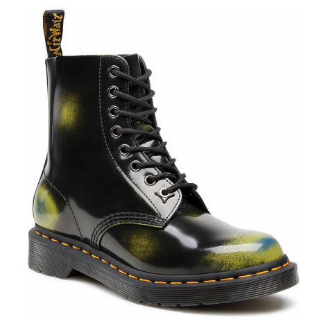 Glany DR. MARTENS - 1460 Pascal 26585001 Black/Marsh Green/Dark Teal Dr Martens